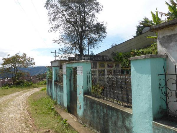 Bolivia Coroico Cemetery