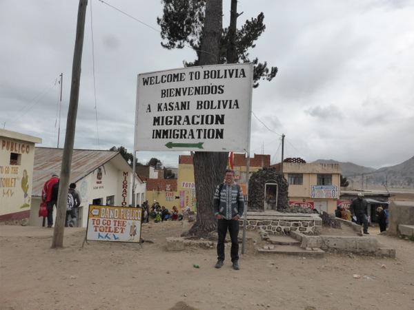 Bolivia Peru Border