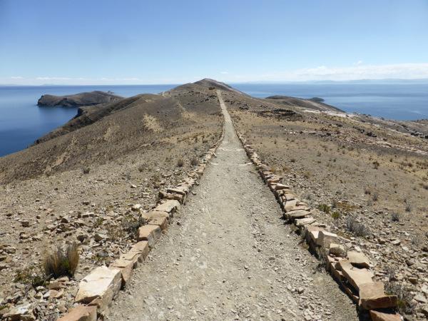 Bolivia Isla del Sol Walk