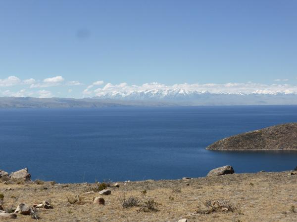 Bolivia Isla del Sol View