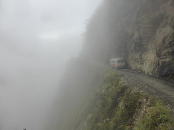 Bolivia Worlds Most Dangerous Road Bus