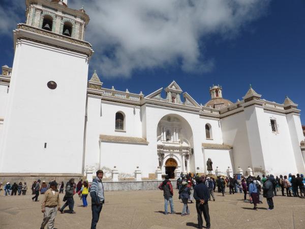 Bolivia Copacabana Virgin Church