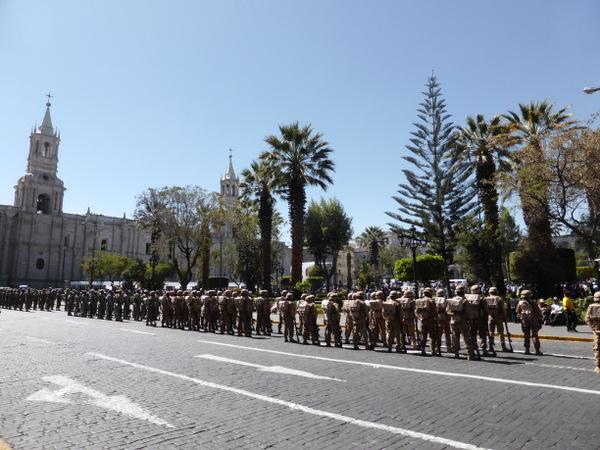 Peru Arequipa Parade
