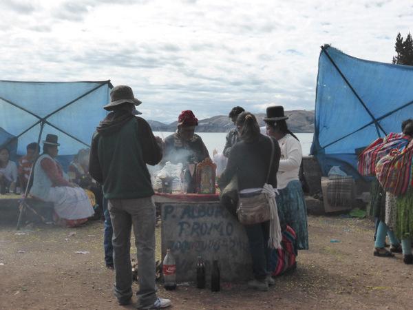 Bolivia Copacabana Ceremony
