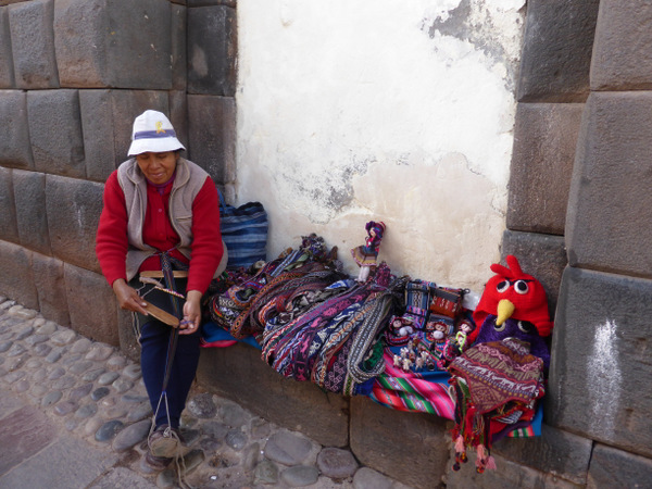 Cusco Peru Street Vendor