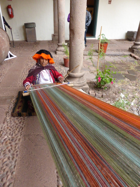 Cusco Peru Weaving