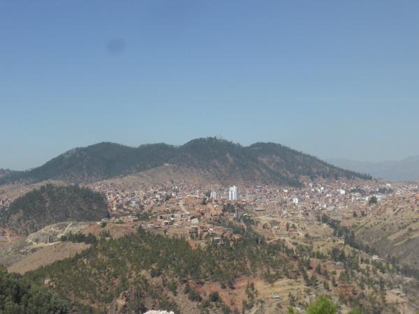 Bolivia Sucre Town