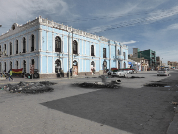 Bolivia Uyuni Town