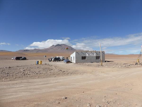 Bolivia Uyuni Chile Border
