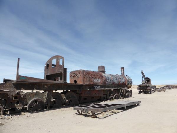 Bolivia Uyuni Train Graveyard