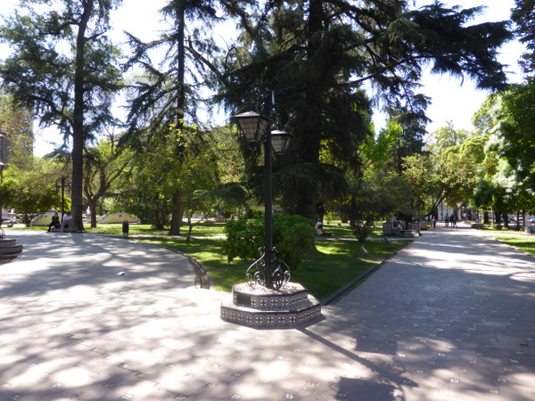 Argentina Mendoza Plaza