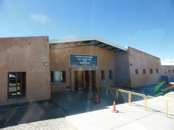 Chile San Pedro de Atacama Border
