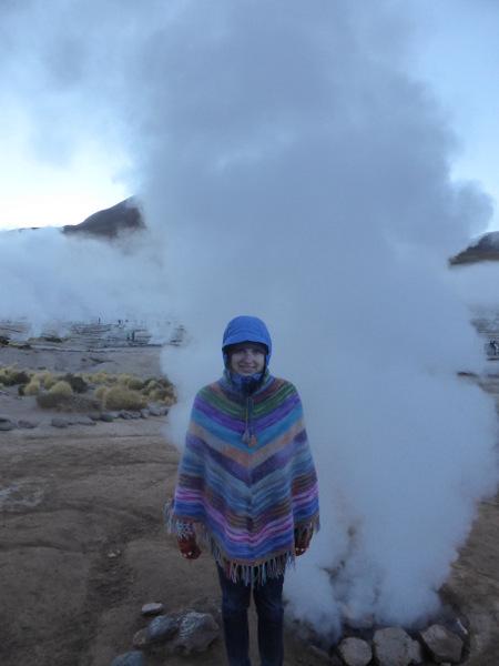 Chile San Pedro de Atacama Geysers