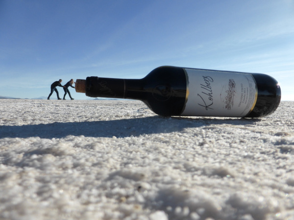 Bolivia Uyuni Salt Flats Wine
