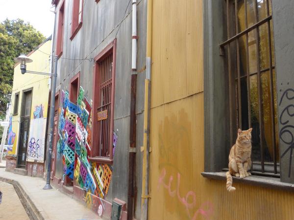 Chile Valparaiso Street