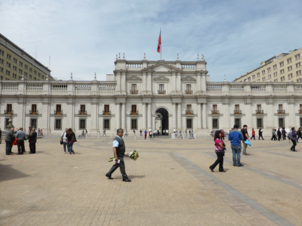 Chile Santiago Palace