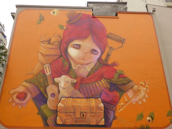 Chile Santiago Artwork