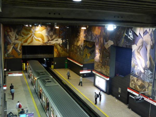 Chile Santiago Metro