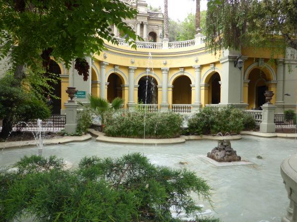 Chile Santiago Park